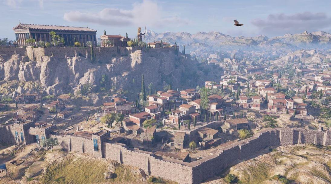 Athens in Assassin's Creed Odyssey