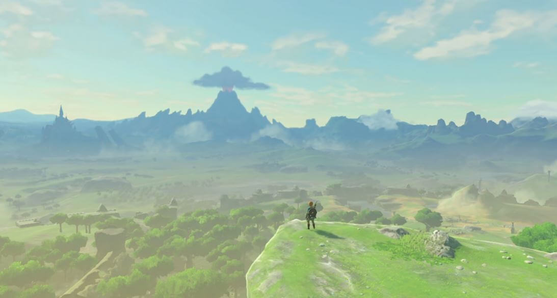 Hyrule in The Legend of Zelda: Breath of the Wild