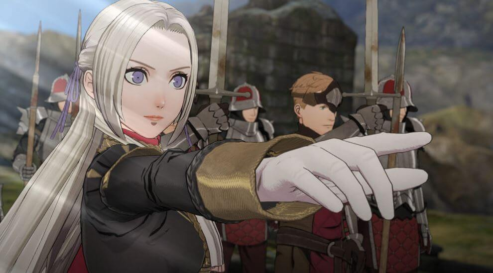 Edelgard in Fire Emblem: Three Houses