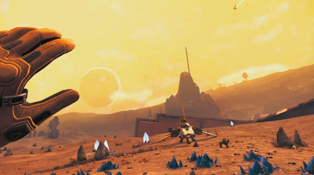 No Man's Sky is a perfect fit for VR...which is why they're making it