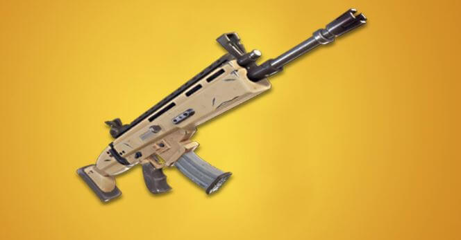 Legendary AR in Fortnite