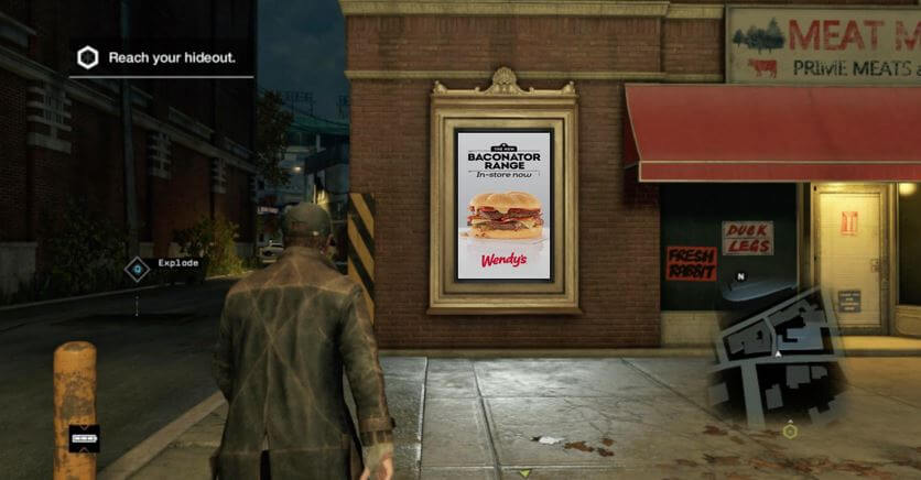 Watch Dogs - Ads like these in games are ok