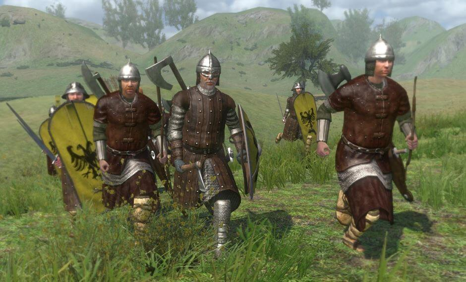 Mount and Blade: Warband let's you make your own story