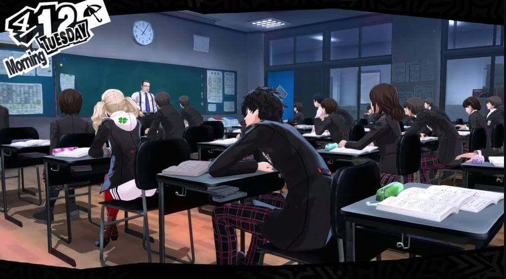 The Persona games take place in the same world in different times