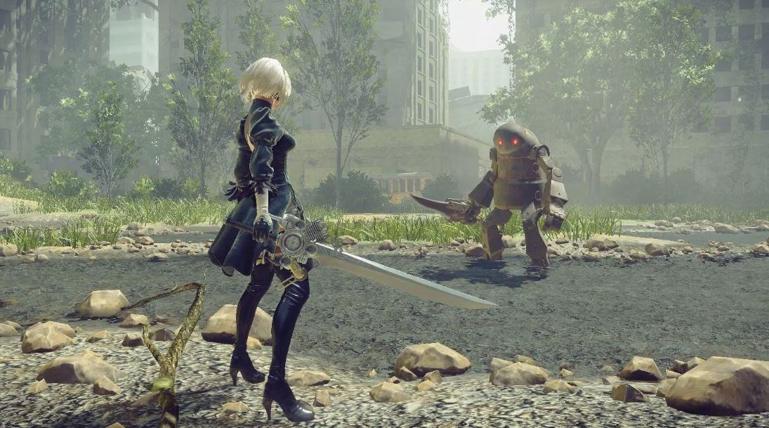 We're sure there were some people who were convinced Nier: Automata is a mobile game