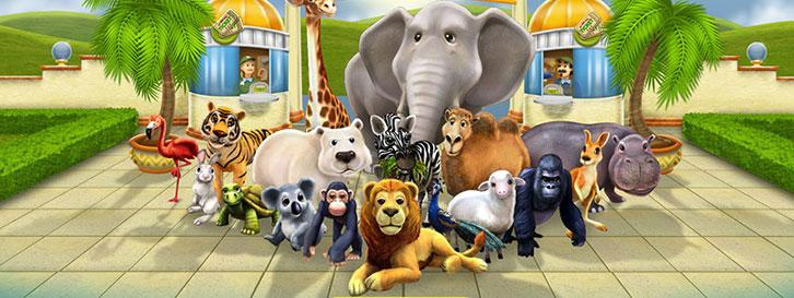Animals in My Free Zoo