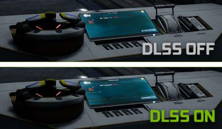 DLSS brings out previously-hidden details