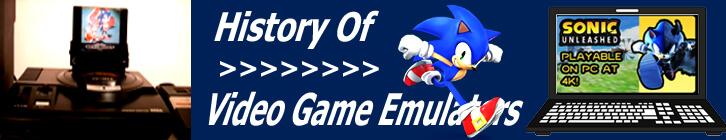 History of Video Game Emulators