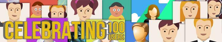WWGDB Celebrates 100 Users