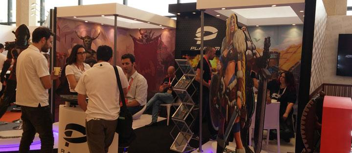 The Plarium Stand