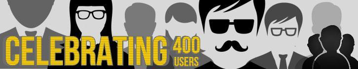 WWGDB Celebrates 400 Users