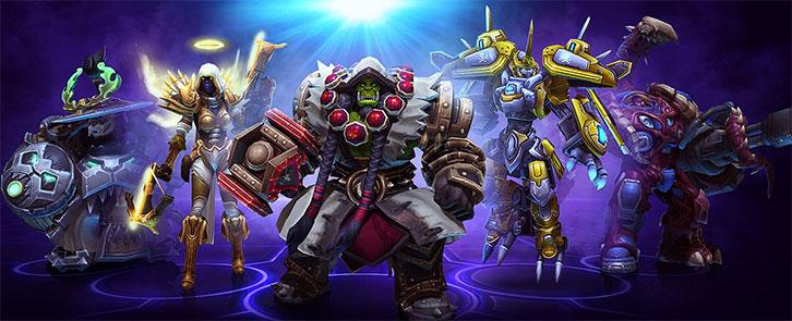 Number 1: Heroes of the Storm