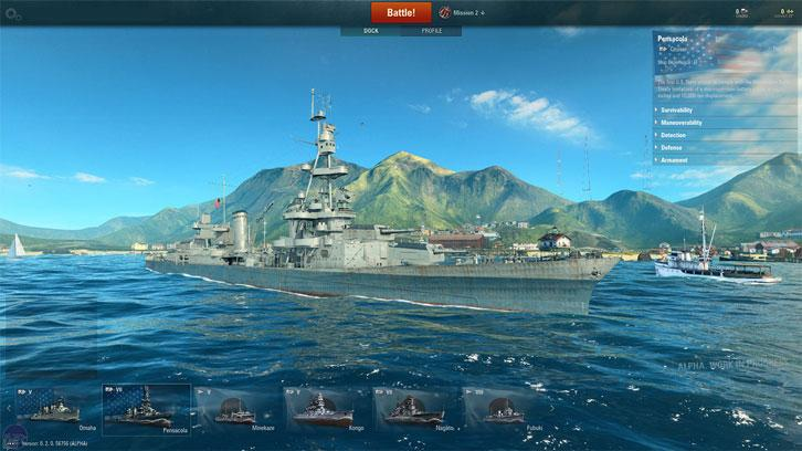 Number 7: World of Warships