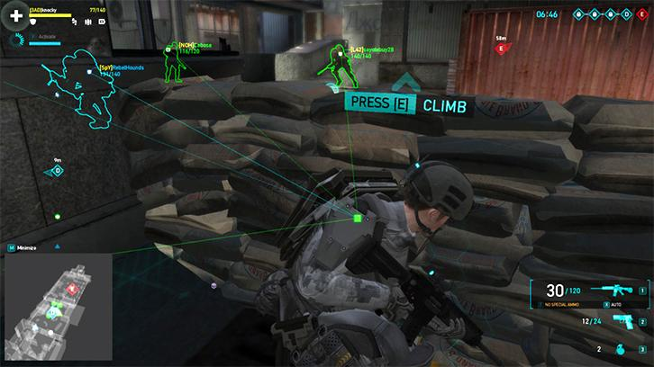 Ghost Recon Phantoms: Taking cover