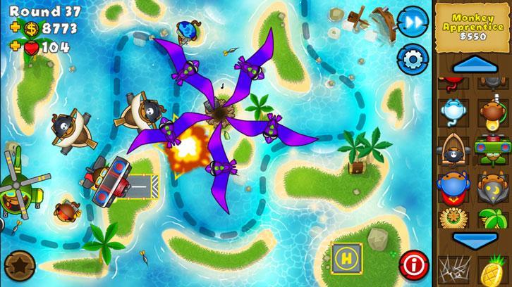 Bloon Tower Defense 5: Gameplay