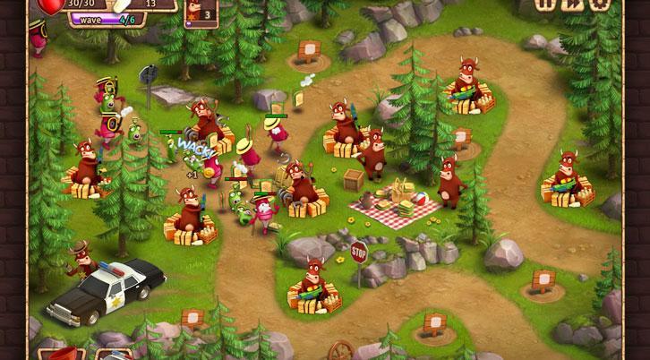 Cower Defense: Gameplay