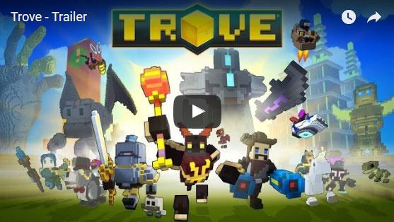 Embark on the ultimate brick adventure in Trove!