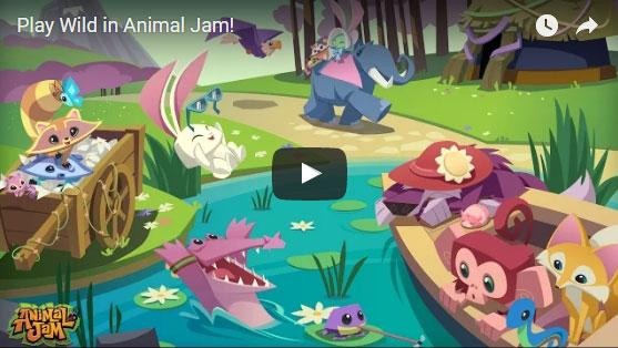 Explore the world of Jamaa as a fun animal and make friends in Animal Jam!