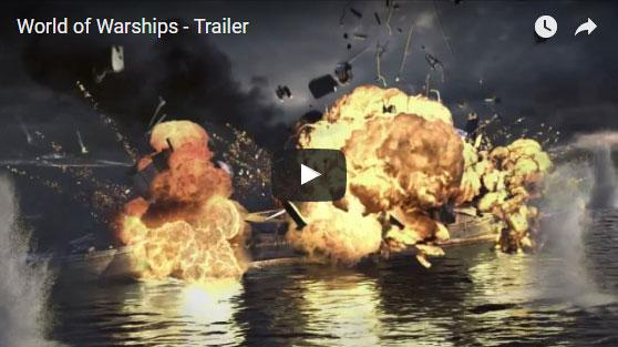 World of Warships Trailer Video