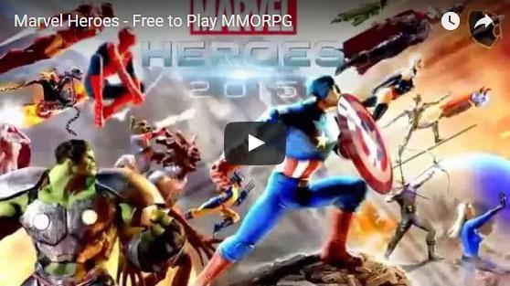 Marvel Heroes Trailer Video