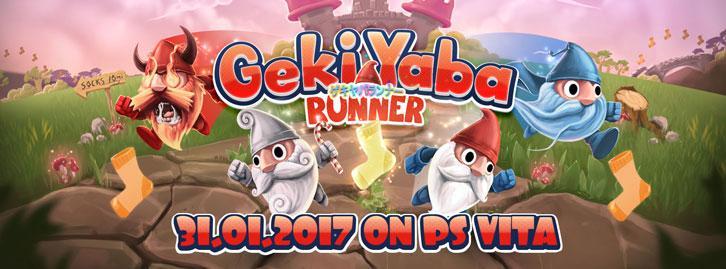 Geki Yaba Runner Will be Released on PS Vita on the 31st