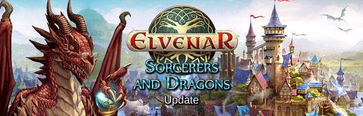 Elvenar's Sorcerers and Dragons Update