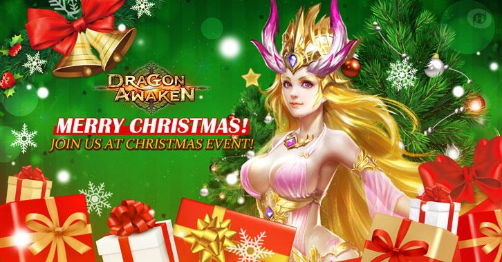 Dragon Awaken Christmas Update: Celebrate Christmas with Dragons!
