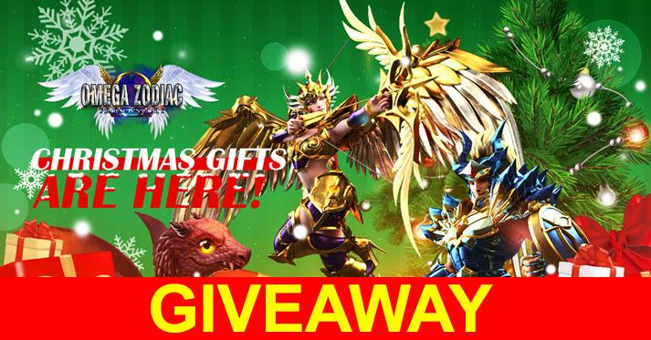 Omega Zodiac's Christmas Giveaway