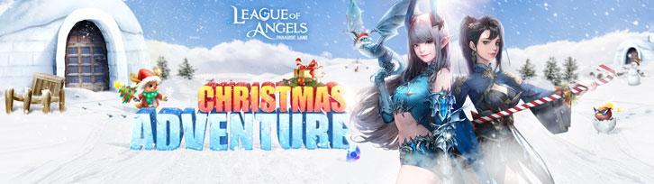 League of Angels – Paradise Land Christmas Events Featuring Reindeer Rudy, A Festive Party And Much More