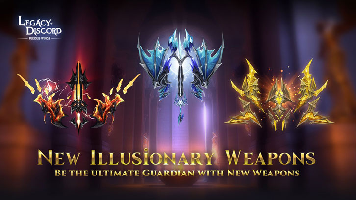 Legacy of Discord – Furious Wings Launches The Divine Armory & The Guild Camp