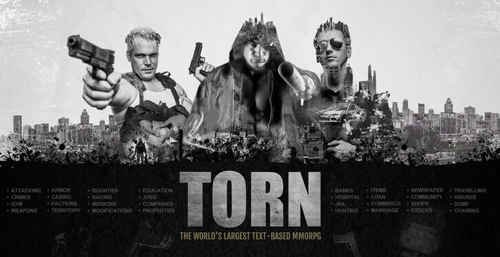 The World's Largest Text-Based MMORPG, Torn is Coming to Android!