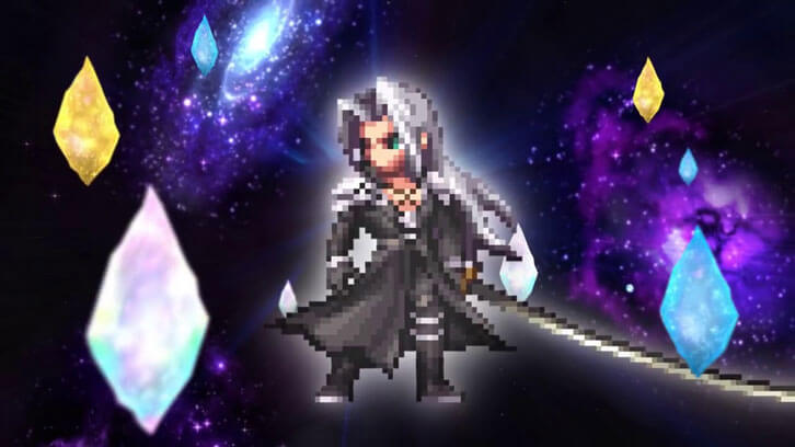 The One-Winged Angel Sephiroth Descends Upon Final Fantasy Brave Exvius