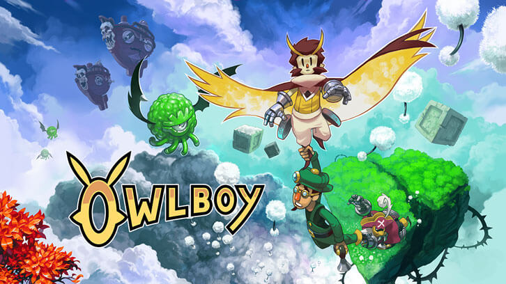 New Trailer Marks Physical Launch of Owlboy for Nintendo Switch and PS4