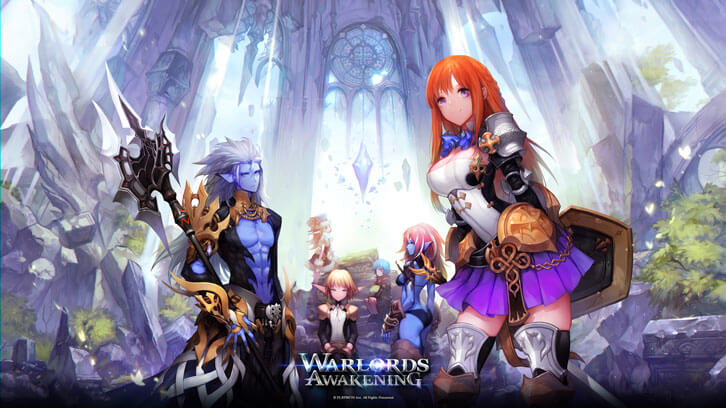 Playwith Interactive will Launch MMORPG Warlords Awakening in July 2018