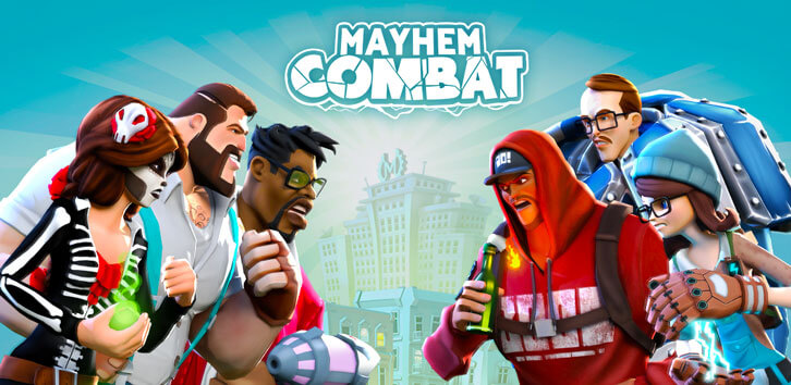 Mayhem Combat, An Intense Arena Fighting Game From Vivid Games, Debuts On iOS Devices