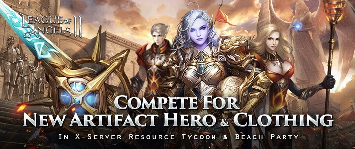 Compete for a New Hero and Clothing Set in League of Angels II