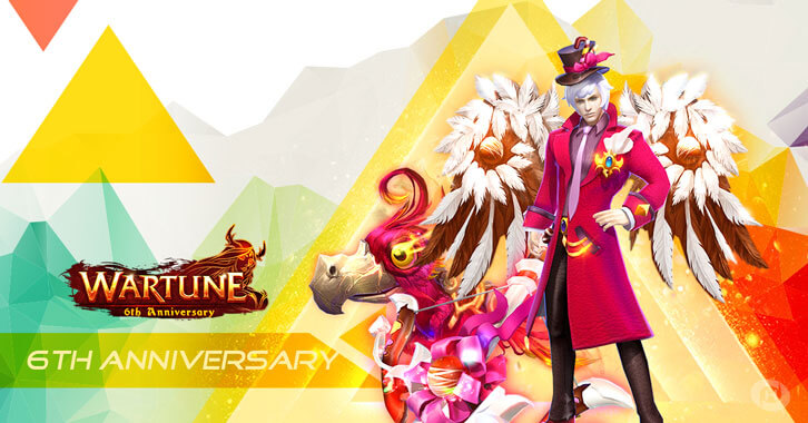 Plenty of Exciting Events Await You in Wartune's 6th Anniversary Celebration