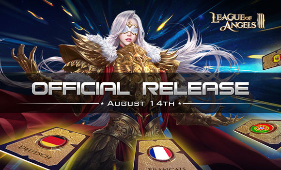 League of Angels III Multi-language Release on August 14th!