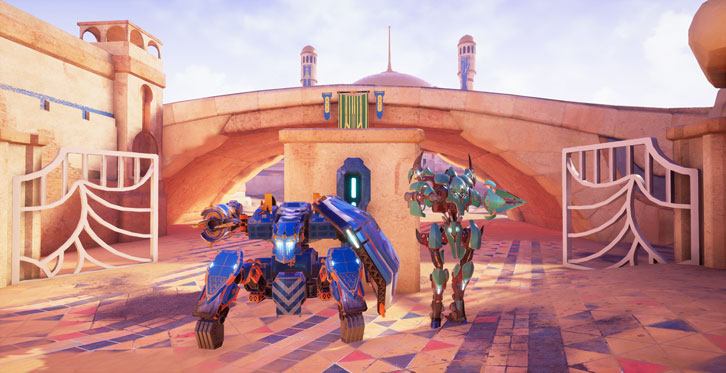 Open Beta for Tactical Multiplayer Mech Shooter 'Blazing Core' Starts Today