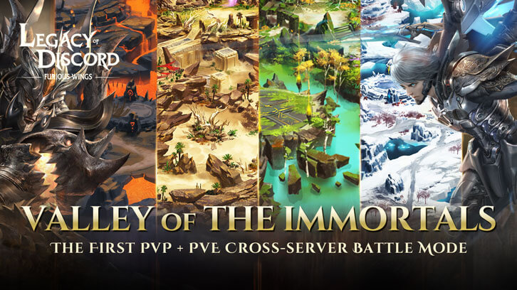 New Battleground Valley of the Immortals Is Coming to Legacy of Discord