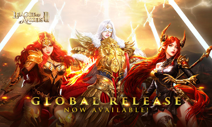 League of Angels III Has Now Been Released Globally!