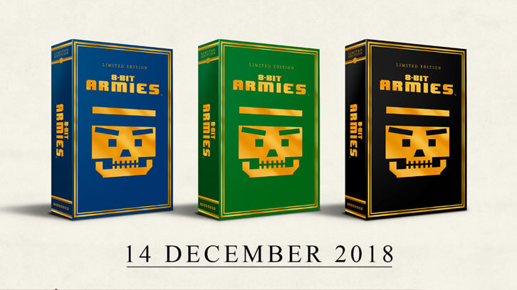 8-Bit Armies Gets Limited Edition on the 14th of December