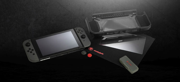 Snakebyte Announces the Tough:Kit for Nintendo Switch
