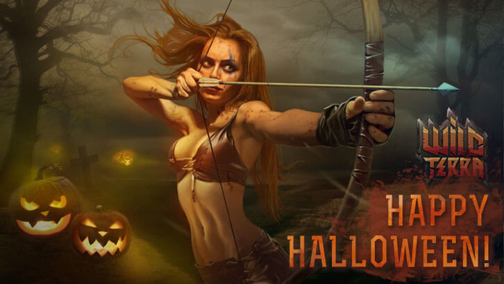 Wild Terra - Halloween Event and A 75% Off Sale!