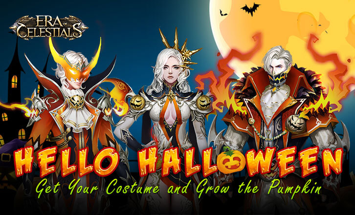 Era of Celestial Halloween Event Starts with Trick or Treat Event and A New Dungeon