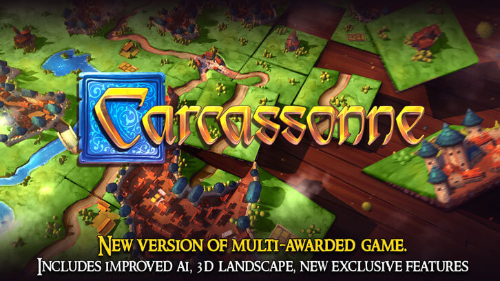 Popular Tabletop Game Carcassonne Now Available on Nintendo Switch