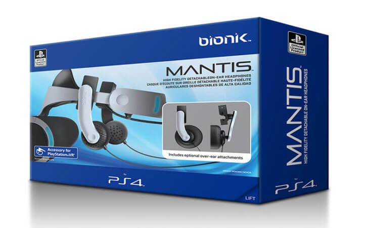 Bionik Announces International Shipping of Mantis VR Headphones for PlayStation VR