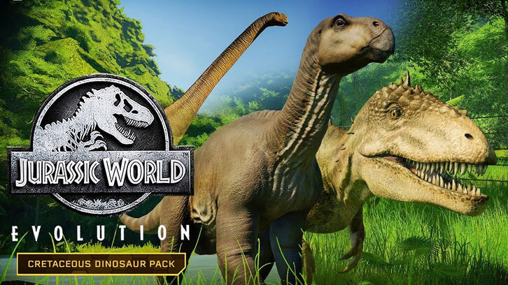 New Dinosaurs Arrive in the Jurassic World Evolution: Cretaceous Dinosaur Pack Today