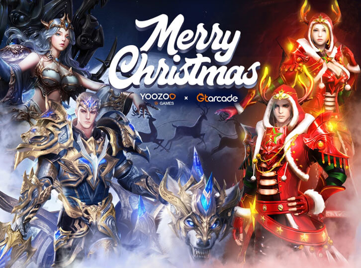 Spend Christmas with Heroes, Gods and Angels on GTArcade