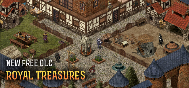 Wild Terra Releases Free DLC, Royal Treasures, and Update 9.56 Cartography
